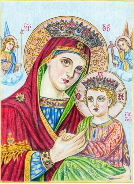 Virgin Mary by veselka555@abv.bg